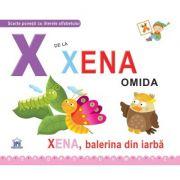 X de la Xena, omida. Cartonata - Greta Cencetti