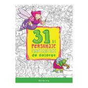 31 de personaje fantastice de colorat