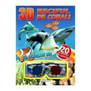 3D Reciful de corali. Cu ochelari 3D