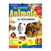 Animale. Carte de activitati cu autocolante