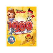 Disney Junior. 1000 de autocolante. Peste 60 de activitati antrenante
