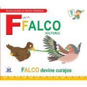 F de la Falco, vulturul. Cartonata - Greta Cencetti