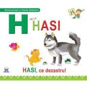 H de la Hasi. Cartonata - Greta Cencetti