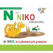 N de la Niko, dinozaurul. Necartonata - Greta Cencetti