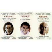 Petru Dumitriu. Opere (Vol. I+II+III)