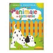 Uneste punctele si coloreaza: Animale de companie