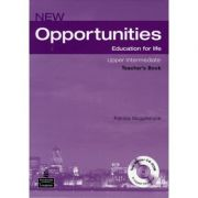 New Opportunities Upper Intermediate Teacher's Book with Master Test CD-ROM - Patricia Mugglestone