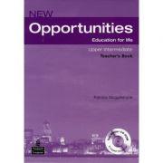 New Opportunities Upper Intermediate Teacher's Book with Master Test CD-ROM