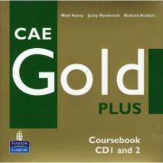 CAE Gold Plus Coursebook Class CD 1-2 - Jacky Newbrook