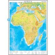Africa. Harta fizica 1000x1400 mm