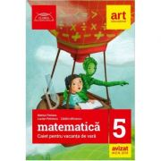 Matematica caiet pentru vacanta de vara clasa a 5-a. Clubul matematicienilor (Editia 2018)