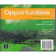 New Opportunities Intermediate Class Audio CD - Michael Harris