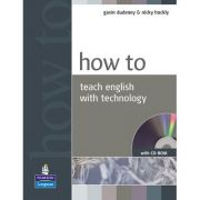 How to Teach English with Technology Book and CD-Rom Pack - NEW