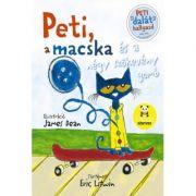 Peti, a macska és a négy szökevény gomb - Eric Litwin