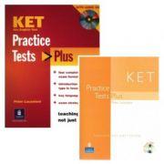 Practice Tests Plus KET Students Book and Audio CD Pack - Peter Lucantoni