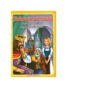 3 Povesti: Tarancuta cea isteata, Sfatul soarecilor, Gasca cu oua de aur