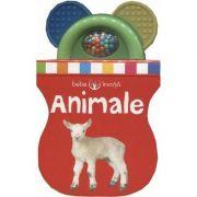 Bebe invata. Animale. Prima carte-jucarie