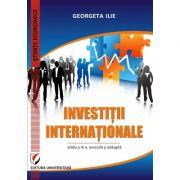Investitii internationale - Georgeta Ilie