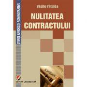 Nulitatea contractului - Vasile Patulea