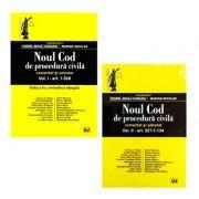Pachet Noul Cod de procedura civila vol. I + vol. II (ed. a II-a)