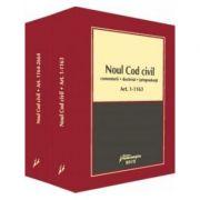 Noul Cod civil. Comentarii, doctrina, jurisprudenta (3 volume)