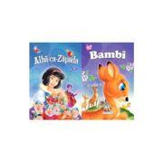 2 Povesti: Alba-ca-zapada si Bambi
