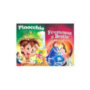 2 Povesti - Pinocchio si Frumoasa si Bestia