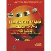 Manual Limba Germana clasa a V-a - Gabriele Kopp, Siegfried Buttner