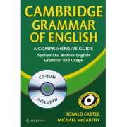 Cambridge Grammar of English Paperback: A Comprehensive Guide - contine CD-Rom - Ronald Carter, Michael J. McCarthy
