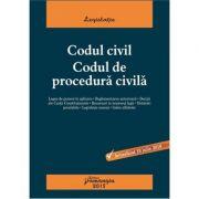 Codul civil. Codul de procedura civila. Editie actualizata 10 iulie 2018