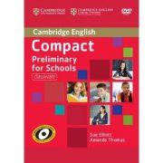 Compact Preliminary for Schools Classware - (contine DVD Rom) - Sue Elliott