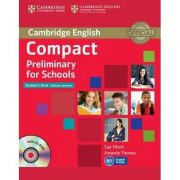 Compact Preliminary for Schools Student's Book without Answers - (contine CD) - Sue Elliott