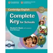 Complete Key for Schools Student's Book with Answers - (contine CD)