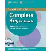 Complete Key for Schools Workbook with Answers - (contine CD) - Sue Elliott
