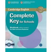 Complete Key for Schools Workbook without Answers - (contine CD) - Sue Elliott