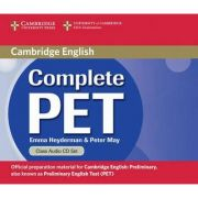 Complete PET Class - (contine 2 CD) - Emma Heyderman, Peter May