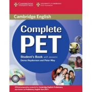 Complete PET Student's Book with answers - (contine CD) - Emma Heyderman