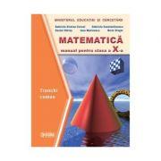 Matematica. Manual TC cls a X-a - Gabriela Constantinescu