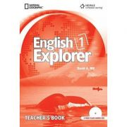 English Explorer 1: Teacher's Book with Class Audio CD - David A. Hill