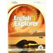 English Explorer 1: Workbook with Audio CD - Jane Bailey, Helen Stephenson