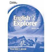 English Explorer 2: Teacher's Book with Class Audio CD - David A. Hill