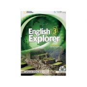 English Explorer 3: Workbook with Audio CD