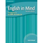 English in Mind Level 4 Testmaker - (contine CD-Rom si audio CD) - Sarah Ackroyd