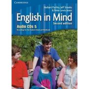 English in Mind Level 5 - (contine 4 CD audio)