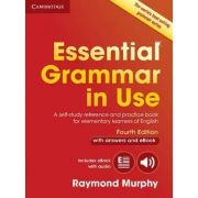 Essential Grammar in Use with Answers: A Self-Study Reference and Practice Book for Elementary Learners of English - contine ebook interactiv - Raymond Murphy
