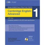 Exam Essentials Cambridge Advanced Practice Tests 1