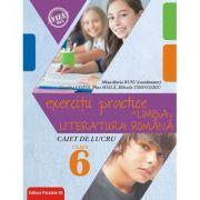 Exercitii practice de limba si literatura romana. Caiet de lucru pentru clasa a VI-a