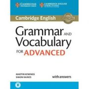 Grammar and Vocabulary for Advanced Book with Answers: Self-Study Grammar Reference and Practice - contine CD-Rom audio - Martin Hewings