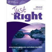 Just Right Advanced Second Edition Student's Book - Jeremy Harmer