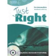 Just Right Pre-intermediate Workbook with Key and Audio CD